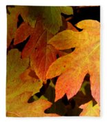 Autumn Hues Fleece Blanket