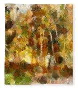 Autumn Impression 1 Fleece Blanket