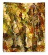 Autumn Impression 2 Fleece Blanket