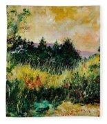 Autumn In Bois Jacques  Fleece Blanket