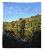 Autumn In New York Fleece Blanket