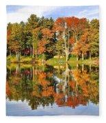 Autumn In Ohio Fleece Blanket