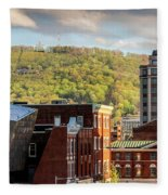 Autumn In Roanoke Fleece Blanket