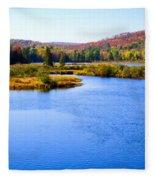 Autumn In The Adirondacks IIi Fleece Blanket