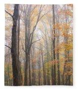 Autumn In The Smoky Mountains Fleece Blanket