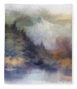 Autumn In The Usa  Photo Art Fleece Blanket