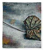 Autumn Is Around The Corner Fleece Blanket