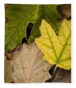 Autumn Is Coming 1 Fleece Blanket