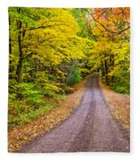 Autumn Journey Fleece Blanket