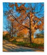 Autumn Lane Mpasto Fleece Blanket