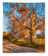 Autumn Lane Fleece Blanket