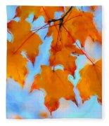 Autumn Light Fleece Blanket