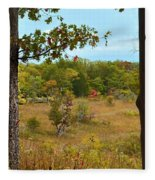 Autumn Look Out Fleece Blanket