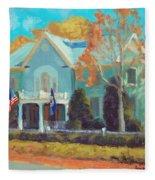 Autumn Magic Claiborne House Fleece Blanket