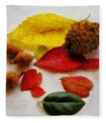 Autumn Medley Fleece Blanket