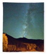 Autumn Milky Way Fleece Blanket