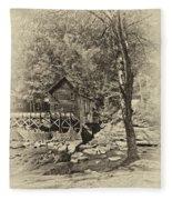 Autumn Mill 2 Antique Fleece Blanket