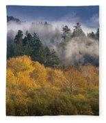 Autumn Mists Fleece Blanket