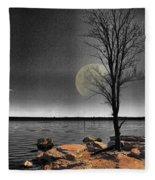Autumn Moon Fleece Blanket