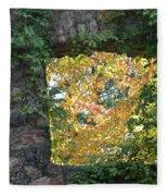 Autumn Naturally Framed Fleece Blanket