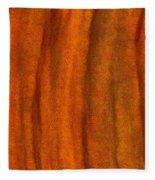 Autumn Number Three Fleece Blanket