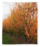 Autumn Orchard Fleece Blanket