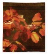 Autumn Promise Fleece Blanket