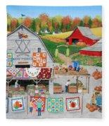 Autumn Quilts Fleece Blanket