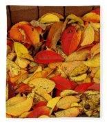 Autumn Remains 2 Fleece Blanket