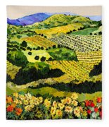 Autumn Remembered Fleece Blanket