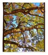 Autumn Revealed Fleece Blanket
