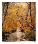 Autumn Riches 1 Fleece Blanket