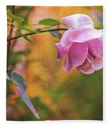 Autumn Rose Fleece Blanket