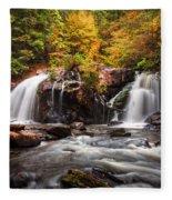 Autumn Rush Fleece Blanket
