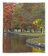 Autumn Serenity Fleece Blanket
