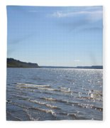 Autumn Shore Fleece Blanket