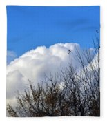 Autumn Sky 2 Fleece Blanket