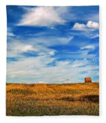 Autumn Sky Fleece Blanket