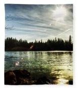 Autumn Sonata Fleece Blanket