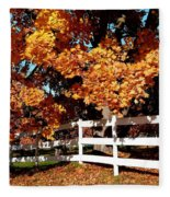 Autumn Splendor 10 Fleece Blanket