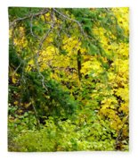 Autumn Splendor 14  Fleece Blanket