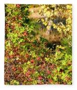 Autumn Splendor 7 Fleece Blanket
