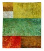 Autumn Study 2.0 Fleece Blanket