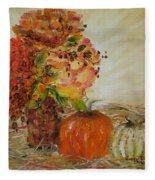 Autumn Sunrise Fleece Blanket