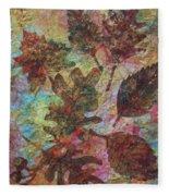 Autumn Symphony Fleece Blanket