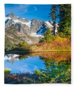 Autumn Tarn Fleece Blanket