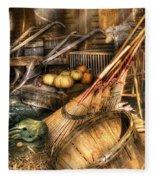 Autumn - This Years Harvest Fleece Blanket