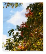 Autumn To Perfection Fleece Blanket