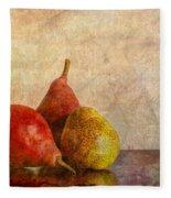 Autumn Trio  II Fleece Blanket