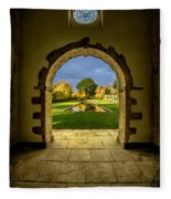Autumn Views Fleece Blanket